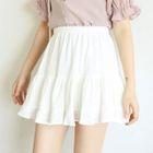 Plain A-Line Skirt 1596