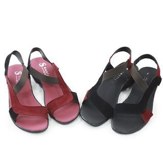 Picture of KAWO Two-Color Flat Sandals 1022910263 (Sandals, KAWO Shoes, China Shoes, Womens Shoes, Womens Sandals)