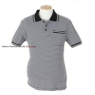 Buy Yellow Jacket Striped Polo Shirt 1022555464