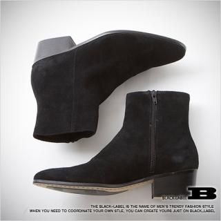 Picture of Style Impact Faux-Suede Ankle Boots 1021695973 (Boots, Style Impact Shoes, Korea Shoes, Mens Shoes, Mens Boots)