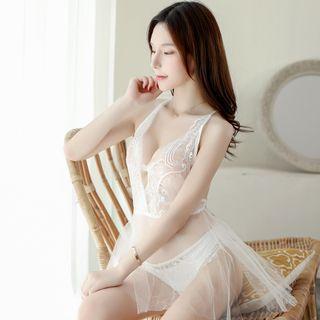 Babydoll | White | Lace | Size | One