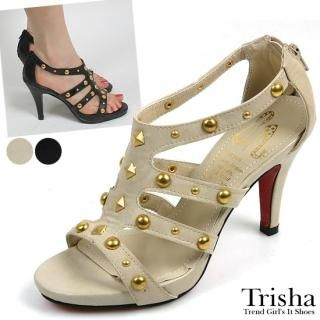 Buy Trisha Studded Platform Sandals 1022577923