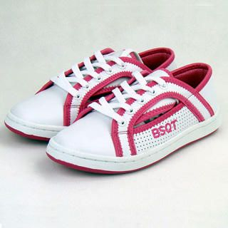 Picture of BSQT Contrast Trim Sneakers 1019634242 (Sneakers, BSQT Shoes, Taiwan Shoes, Womens Shoes, Womens Sneakers)