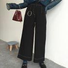 High-waist Wide-leg Pants 1596
