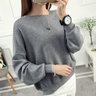 Image of Balloon Sleeve Sweater
