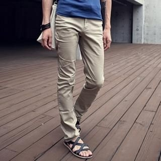 Buy MITOSHOP Straight-Cut Pants 1022950492