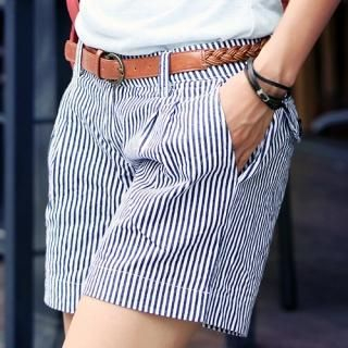 Buy REDOPIN Set: Striped Shorts + Belt 1022976921
