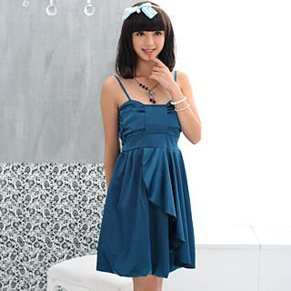Picture of 59 Seconds Sleeveless Tie-Back Satin Party Dress 1022969032 (59 Seconds Dresses, Womens Dresses, Hong Kong Dresses, Cocktail & Party Dresses, Sleeveless Dresses, Satin Dresses)