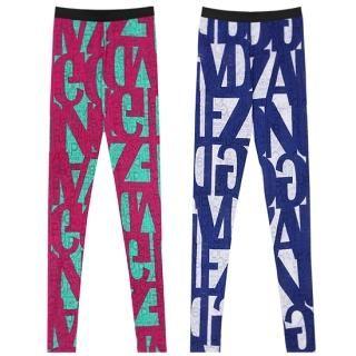 Buy REDOPIN Patterned Leggings 1022690806