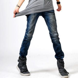 Buy deepstyle Fitted Jeans 1022408536