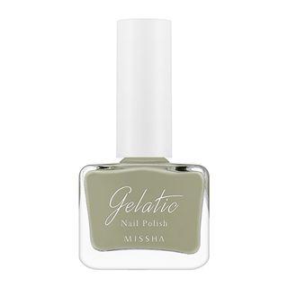 Missha - Gelatic Nail Polish (#GR06 Green