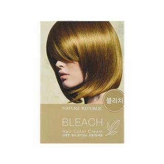 Nature Republic - Hair & Nature Hair Color Cream (Bleach): Powder 10g + Oxidizing Lotion 30g 2pcs 1062736220
