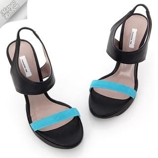 Buy Mango Ribbon Platform Sandals 1022990997