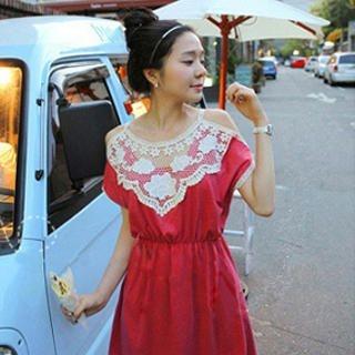 Buy SHY SHY Crochet-Trim Dress 1022852932