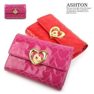 Picture of ASHTON Quilted Heart Wallet 1021961555 (ASHTON, Wallets, Korea Bags, Womens Bags, Womens Wallets)
