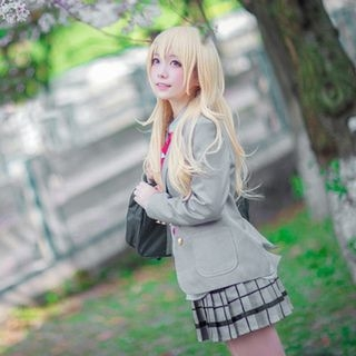 Your lie in April Miyazono Kaori Cosplay Costume 1053898678