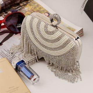 Pearl Rhinestone Handbag 1061658977