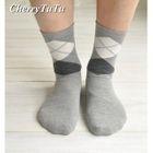 Argyle Ankle Socks 1596