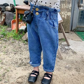 High-waist   Jean   Kid