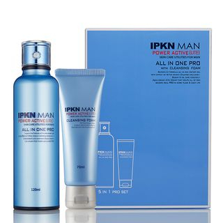 IPKN - Man Power Active Lite Set: All In One Pro 120ml + Cleansing Foam 70ml 2pcs 1061422318