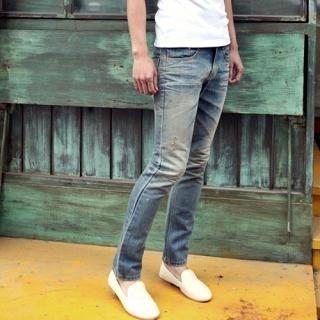 Buy Portfranc Distressed Slim-Fit Jeans 1022712330