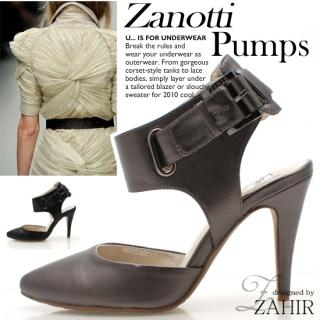 Picture of ZAHIR Buckled Pumps 1022065262 (Pump Shoes, ZAHIR Shoes, Korea Shoes, Womens Shoes, Womens Pump Shoes)