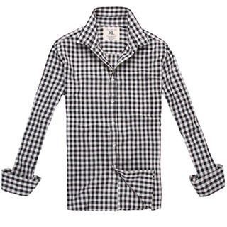 Buy MR.ZERO Long-Sleeve Check Shirt 1022772855