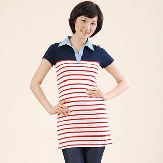 Buy prischu Striped Shirtdress 1019748800