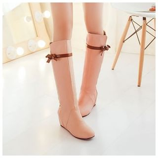 Bow Accent Tall Boots