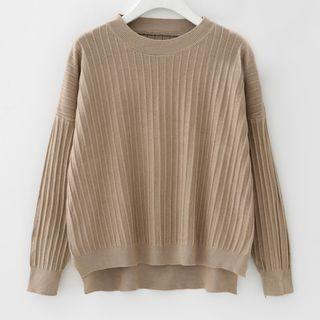 Rib Knit Pullover 1062512379