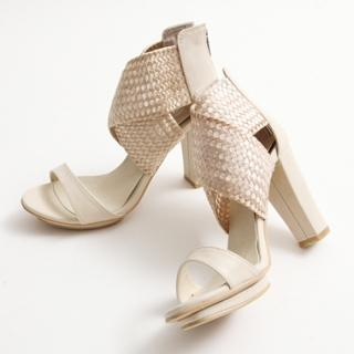 Buy KENZI Weave Cross Strap Sandals 1022843152
