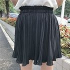 Pleated Chiffon Shorts 1596