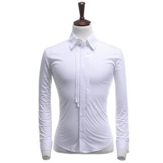 Buy STYLEHOMME Long-Sleeve Pintuck Detail Shirt 1022185923
