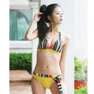 Picture of Alicegohomea Striped Bikini 1022877641 (Alicegohomea Apparel, Womens Swimwear, South Korea Apparel, South Korea Swimwear)