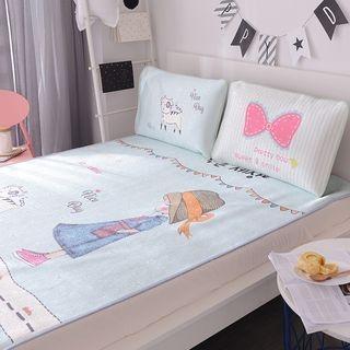 Bedding Set: Mattress Protector + Pillowcase 1060057466