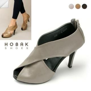 Buy HOBAK girls Genuine Leather Crisscross Pumps 1022002856