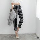 Striped Capri Trousers 1596