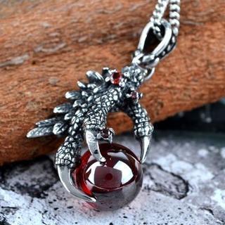Titanium Steel Claw Necklace