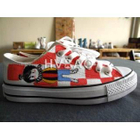 Boy-and-Checkboard Pattern Canvas Sneakers от YesStyle.com INT