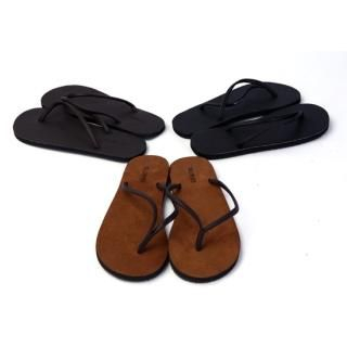 Buy moscod Genuine Suede Flip-Flops 1022950616