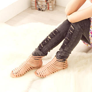 Picture of Fashion Lady Buckled Gladiator Sandals 1023002710 (Sandals, Fashion Lady Shoes, China Shoes, Womens Shoes, Womens Sandals)