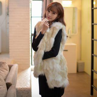 Image of Faux-Fur Vest