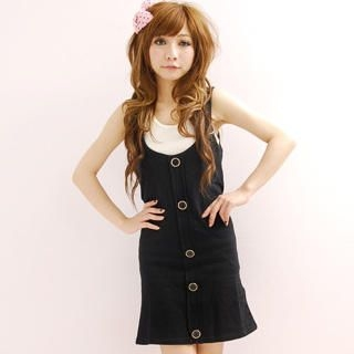 Buy ZOO Sleeveless Button-Front Dress 1023009021