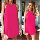 Plain Strappy Dress 1596