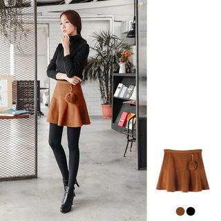 Pommed Flare Mini Skirt - 2 Colors 1053384744