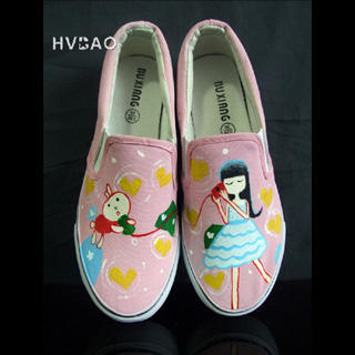 Picture of HVBAO Sweet Dream Slip-Ons 1019659062 (Slip-On Shoes, HVBAO Shoes, Taiwan Shoes, Womens Shoes, Womens Slip-On Shoes)