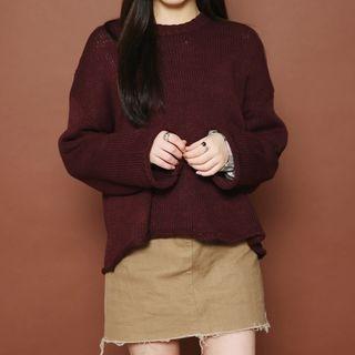 Drop-Shoulder Knit Top 1053762504