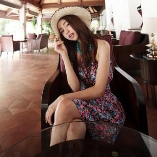 Buy KENZI Floral Print Sleeveless Dress 1022824189