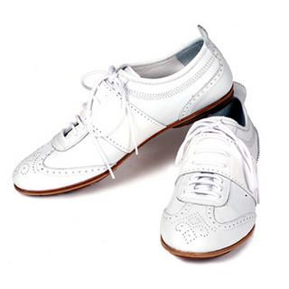 Buy Purplow Handmade White Sneakers 1004910884