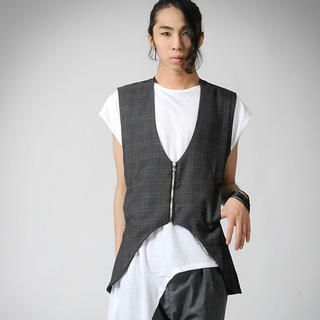 Buy deepstyle Check Vest 1022820535